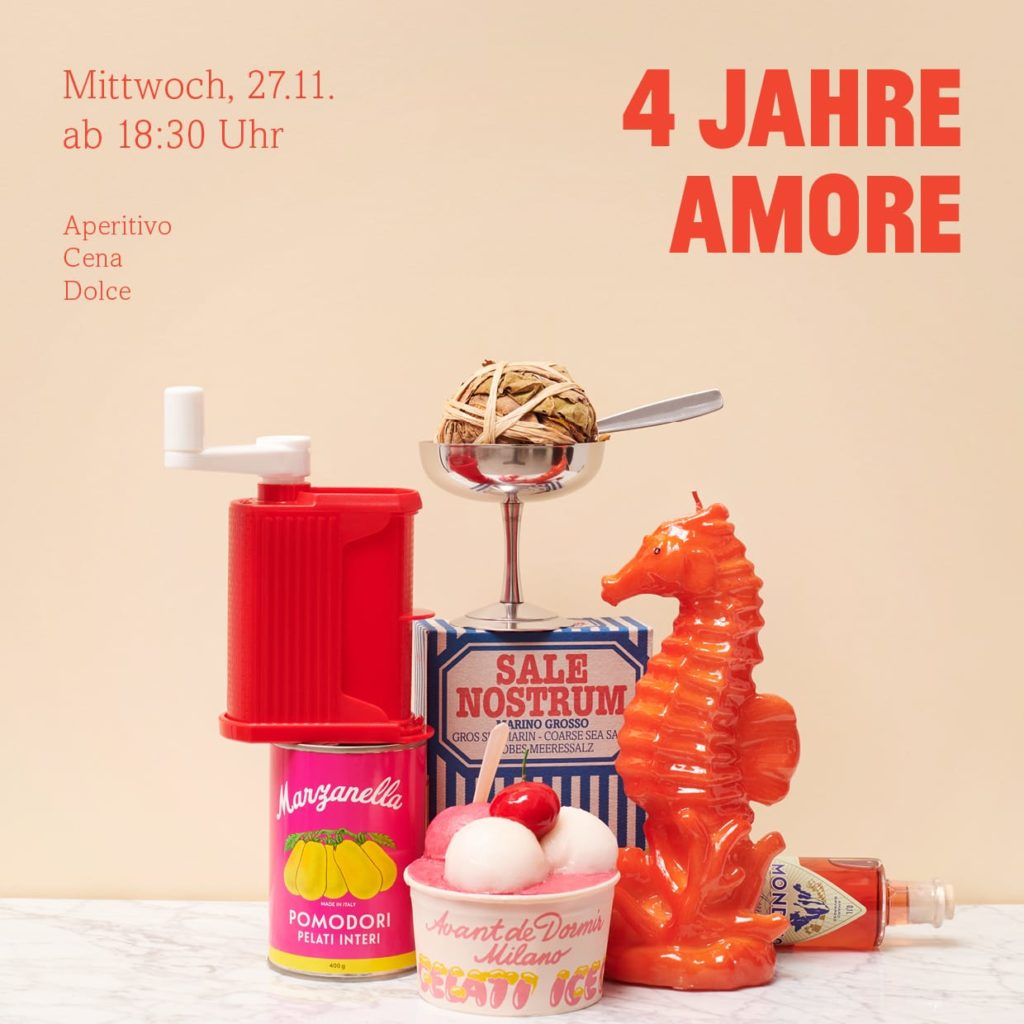 Celebrating 4 Years if Amore Berlin